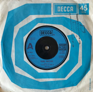"Adam And The Ants - Young Parisians (7"") (G-VG/G-VG)"